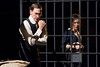 Ben Dibble as Leo Frank and Jennie Eisenhower as Lucille Frank in Arden Theatre Companys production of Parade .Photo by Mark Garvin