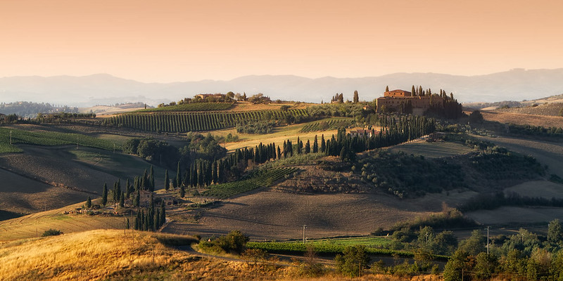 Best Hikes in Europe: Val d'Orcia, Tuscany