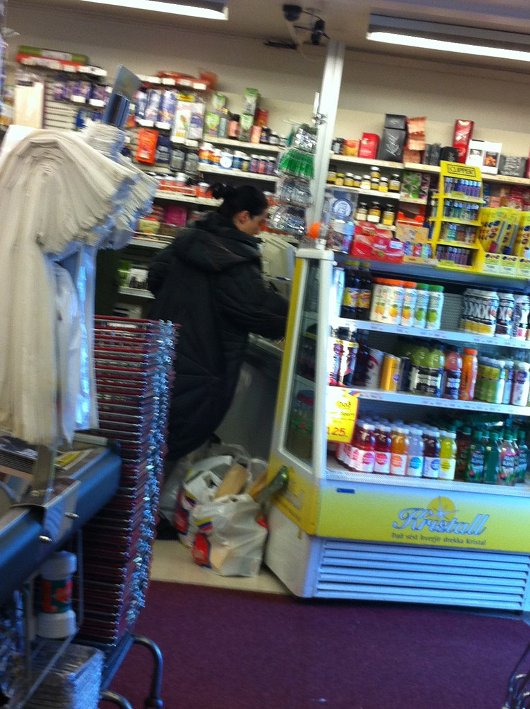 Bjork in the local supermarket is she? 3