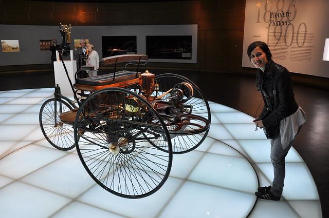 Mercedes Benz Museum - 1885 Benz Patent Motorwagen