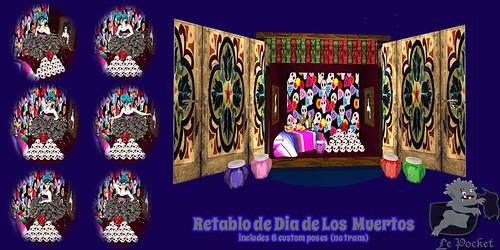 LePocket-RetabloDiaDeLosMuertos