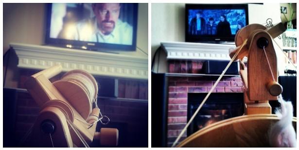 Spinning + TV