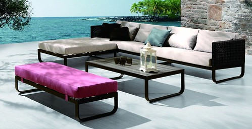 Picket And Rail Outdoor Furniture Collection