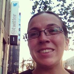 I went to TwitterHQ :) I'm such a geek :)