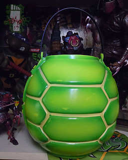 DISGUISE :: TMNT Folding Pumpkin Pail iv (( 2004 ))