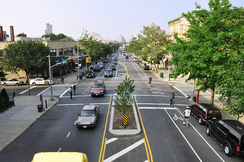 Vanderbilt Ave, Brooklyn (by: NYCDOT, creative commons)