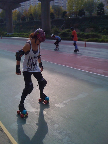 Busan Roller Derby Practise