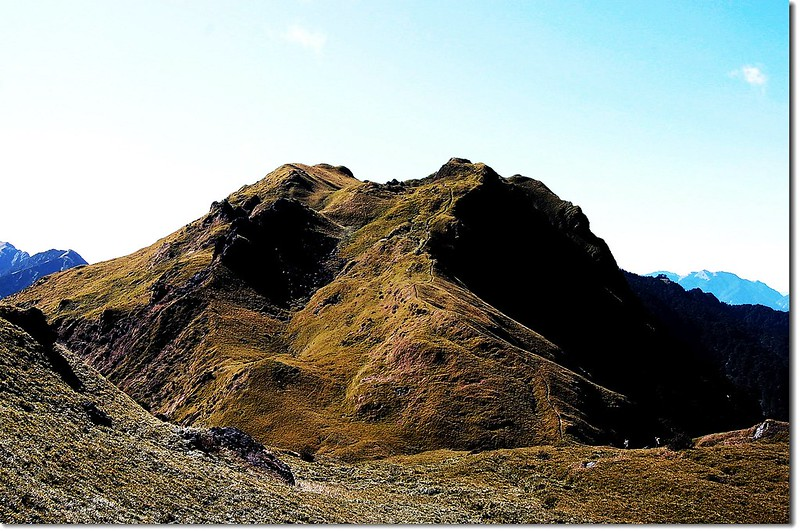 卡賀爾山(北向南望) 1