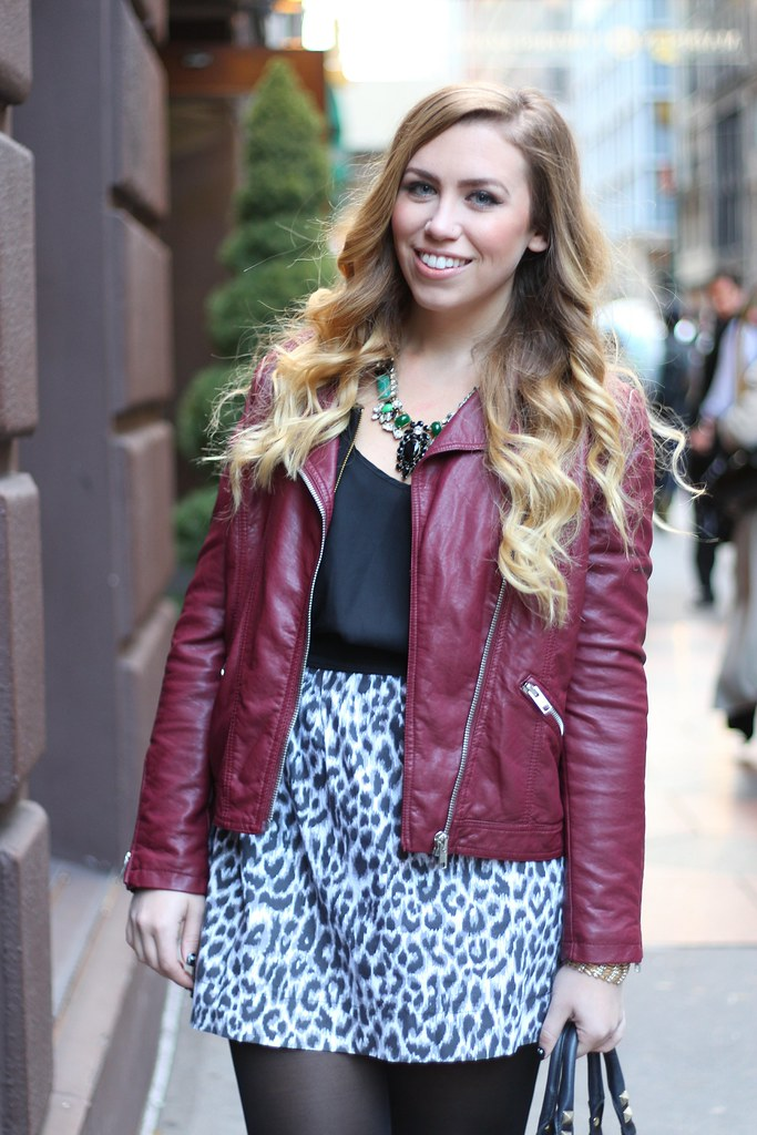 Living After Midnite: Leopard Skirting Around  ILY Couture Giveaway