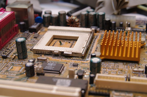 Pentium-III: Placa Base