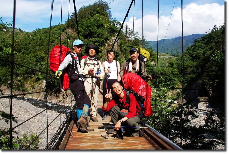 司界蘭溪吊橋