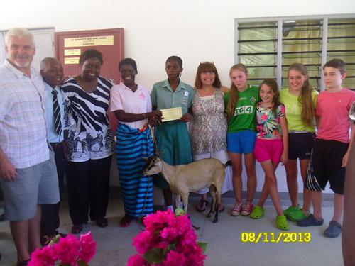 Prizegiving at St Bernadette Mary School