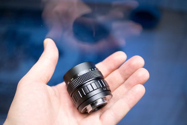 Nikon V1 & C-Mount 50mm f/1.4