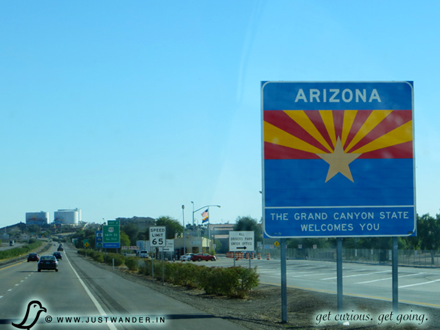PIC: Welcome to Arizona sign