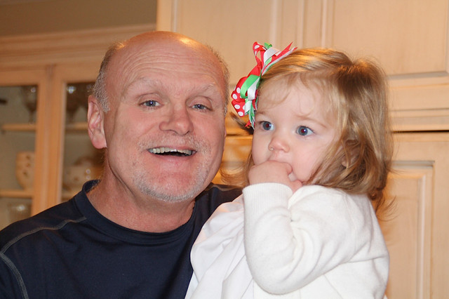 G-dad & Ava Jane Dec 2013
