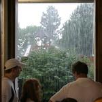 And the rain fell