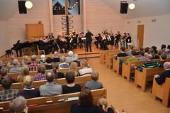 SYBB-Konsert i Åsenhöga den 4 januari 2014. Bra med folk!