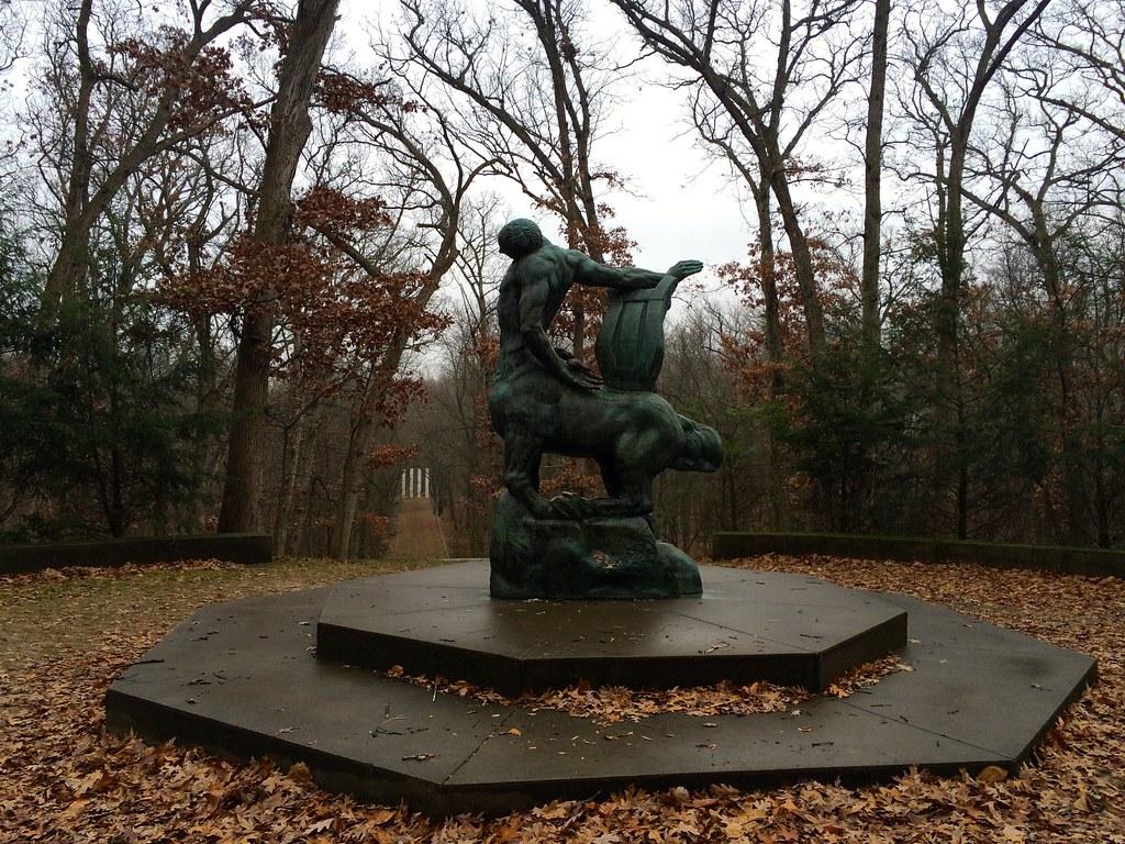 Death of the Last Centaur - Robert Allerton Park