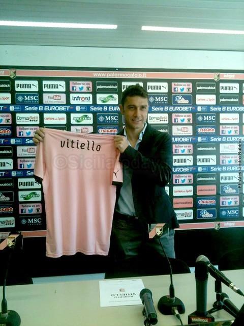 """Palermo, Vitiello: """"Ho accettato senza esitare""""$"""
