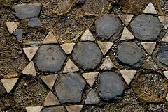 Pavement near Octagonal Church, Philippi, Greece
