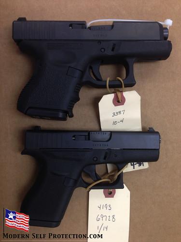 Glock 26 and Glock 42