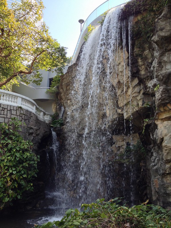 Small, but sprightly waterfall