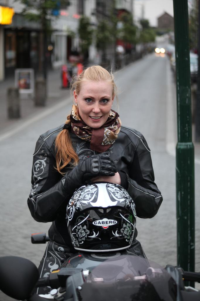 Silk Motorcycle Scarf