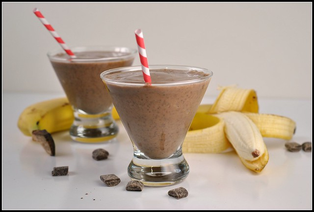 Chocolate Banana Smoothie 4