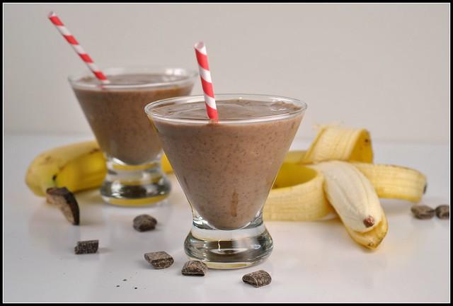 Chocolate Banana Smoothie 4
