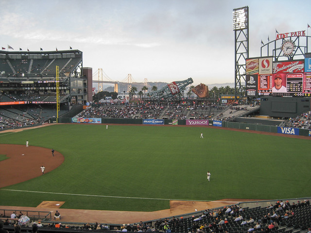 SF Giants, AT&T Park, San Francisco