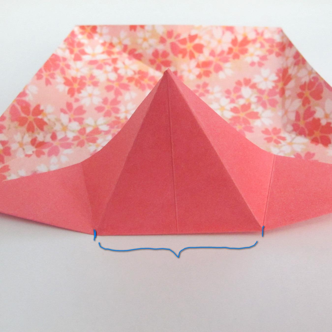 สอนวิธีการพับกระดาษเป็นดอกมะเฟือง (Origami Carambola) 011