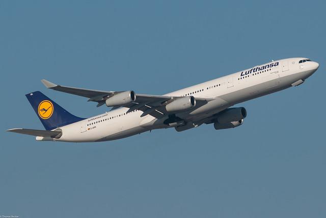 Lufthansa Airbus A340-313E D-AIFA Dorsten (78384)