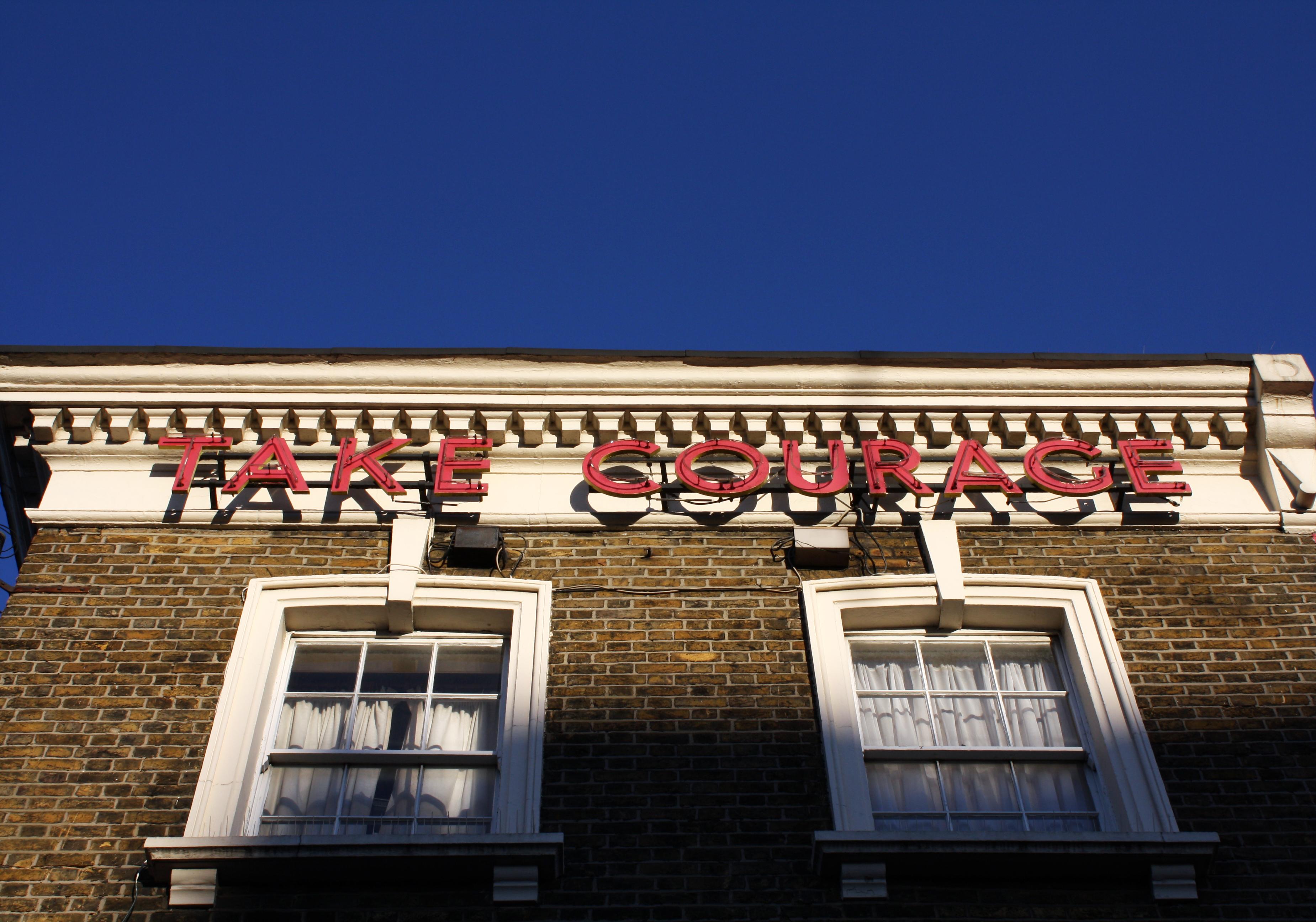 take courage camden. london photography blog
