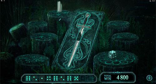Avalon 2 - Quest for the Grail Bonus Game Feature