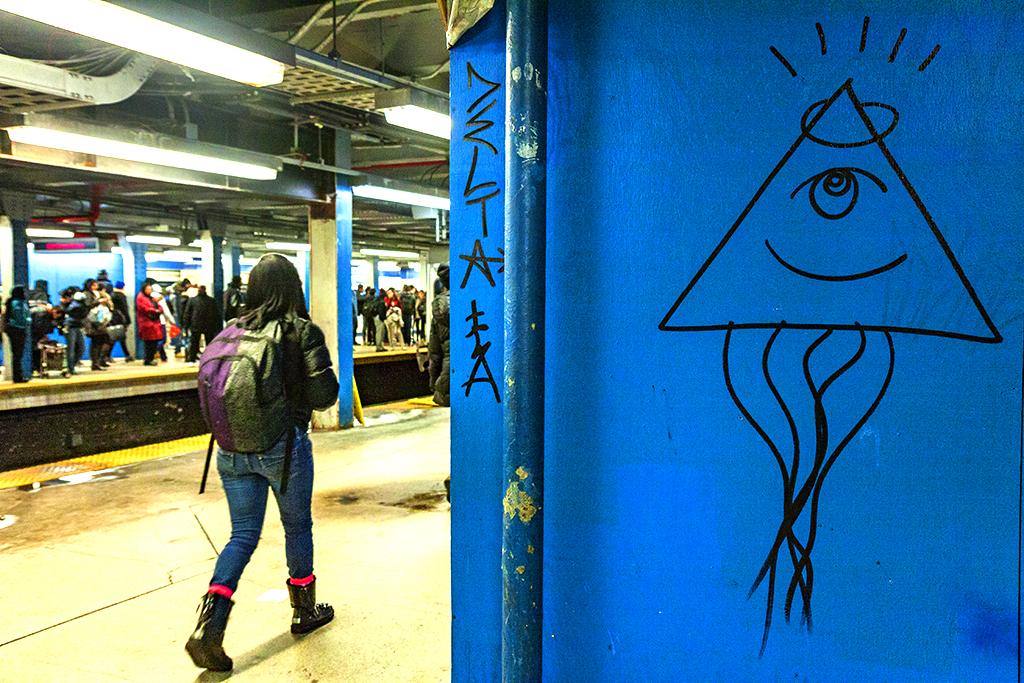 Eye-of-providence-graffiti-at-subway-station--Center-City