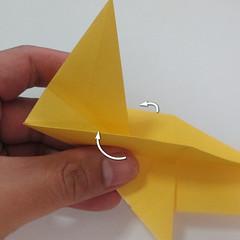 สอนวิธีพับกระดาษเป็นรูปลูกสุนัขยืนสองขา แบบของพอล ฟราสโก้ (Down Boy Dog Origami) 056