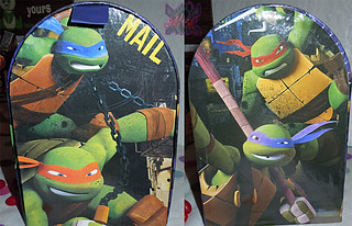 PAPER MAGIC GROUP :: Nickelodeon TEENAGE MUTANT NINJA TURTLES ; VALENTINE'S MAIL BOX iv// ..box (( 2014 ))