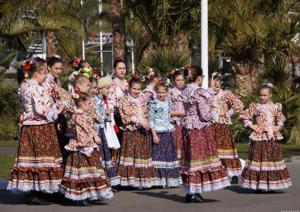 Олимпийский парк. Детский кубанский хор