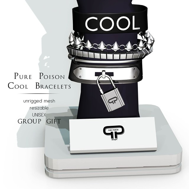 Pure Poison - Cool Unisex Bracelets - NEW Group Gift
