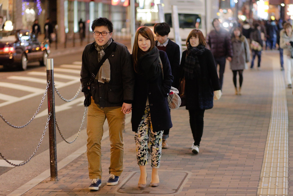 Shibata 1 Chome, Osaka-shi, Kita-ku, Osaka Prefecture, Japan, 0.008 sec (1/125), f/1.8, 85 mm, EF85mm f/1.8 USM