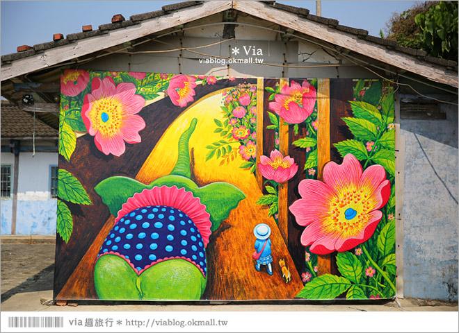 【台南後壁幾米】後壁土溝農村美術館‧農村就是美術館!幾米作品可愛現縱~39