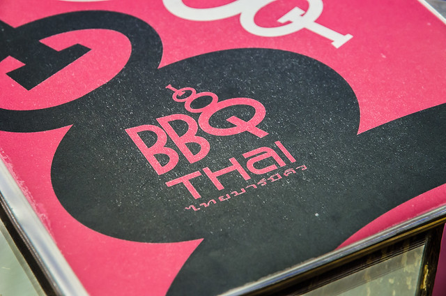 BBQ Thai: Thai Street Food's food menu cover