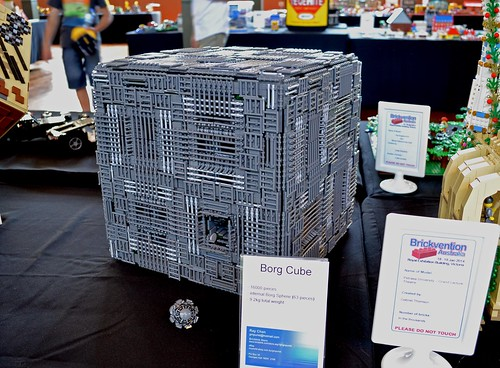 Borg Cube by Ray Chan