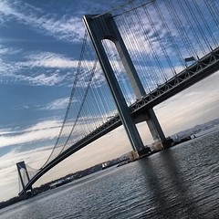 Verranano-narrows #bridge #nyc #Brooklyn #atlantic