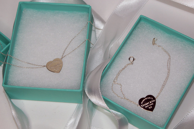 Return to Tiffany Heart Pendant and Bracelet
