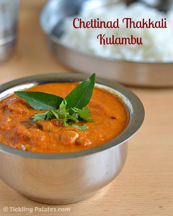 Chettinad Tomato Kulambu