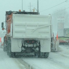 That name again is Mr Plow! Yay! #ygk #bathroad #onstorm #winter