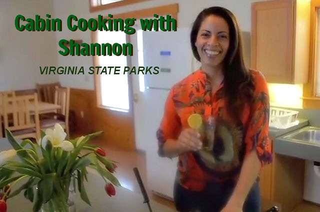 Cabin Cooking with Shannon at Kiptopeke State Park Spaghetti with clams in white wine sauce