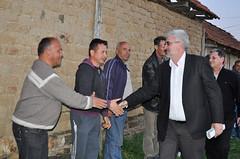 Кликни за фотогалерија - Зоран Поповски во посета на Кривогаштани, Боратово и Песталево