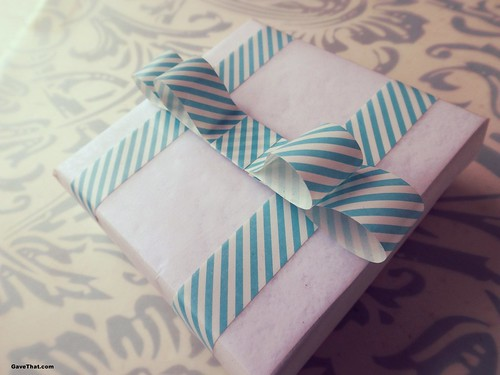 DIY Washi Tape Gift Bow Step by Step Tutorial